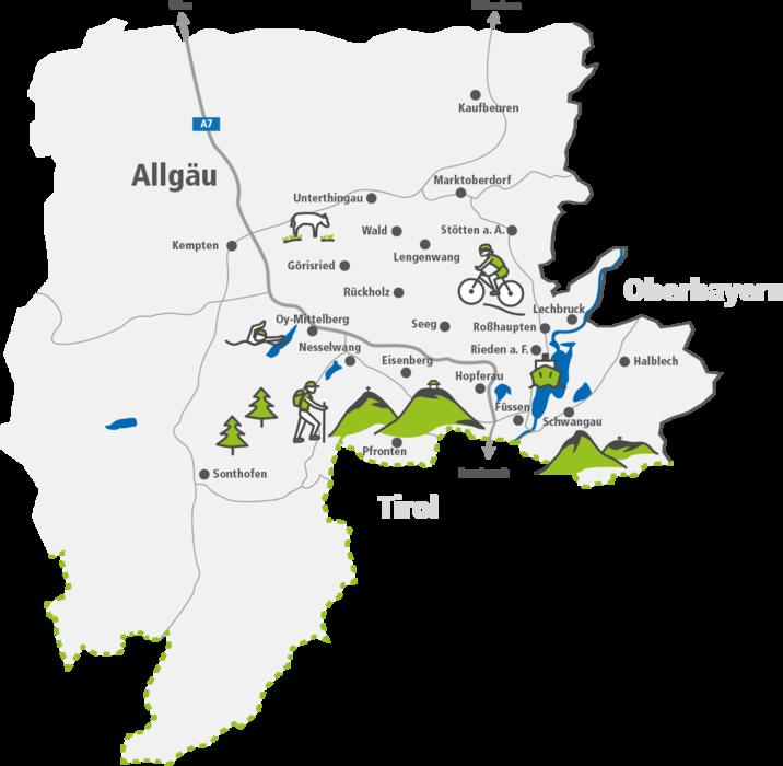 Karte Oberbayern Regionen.Konigscard Einfach Ausprobieren Region